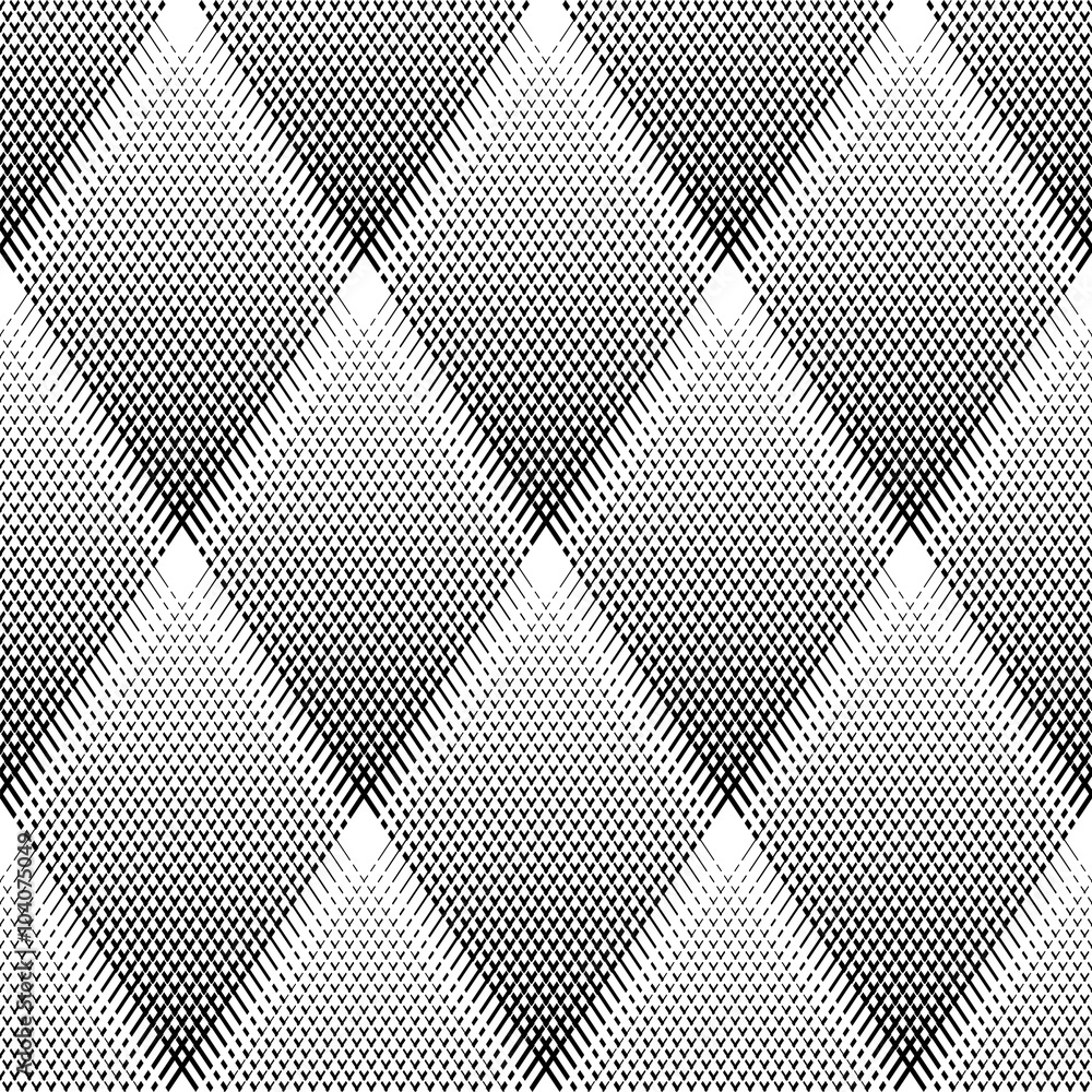 Tapeta Seamless diamonds pattern.