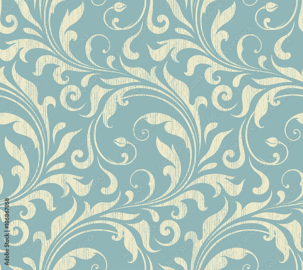 Tapeta Vintage Damask Seamless