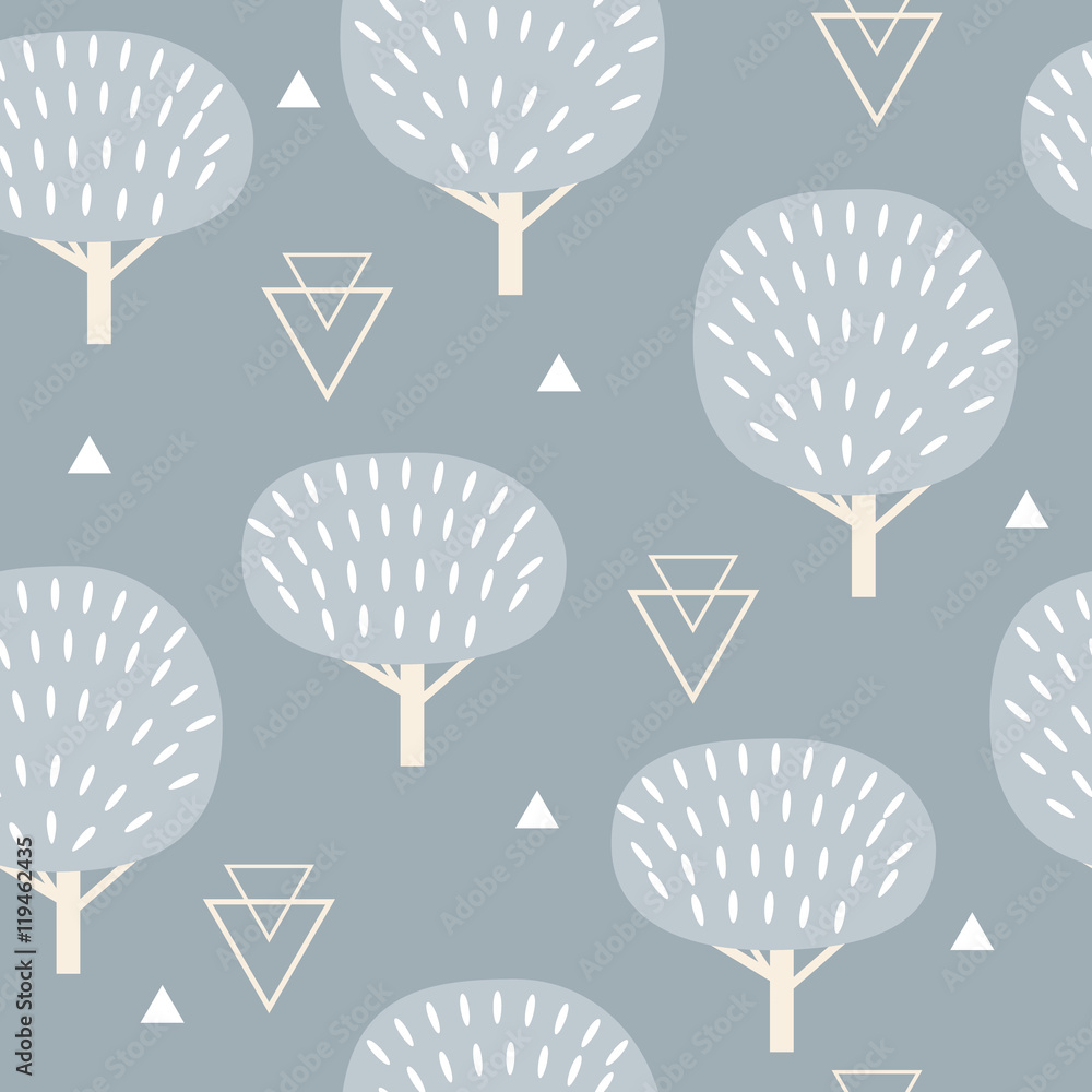 Tapeta Seamless pattern in modern