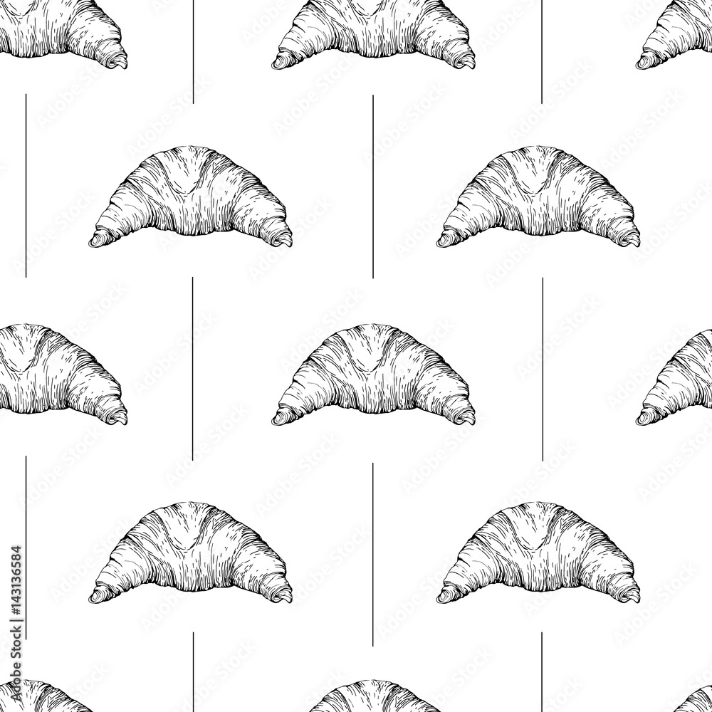 Tapeta Seamless vector pattern with