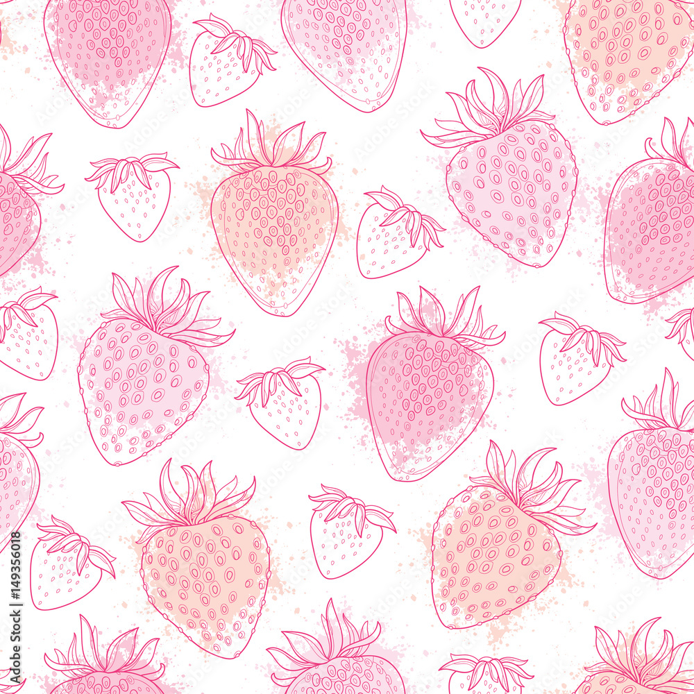 Tapeta Vector seamless pattern with