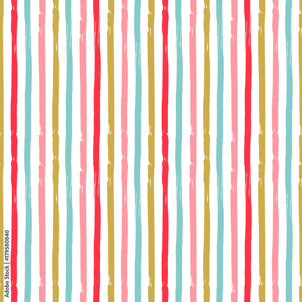 Tapeta Colorful stripes. Seamless