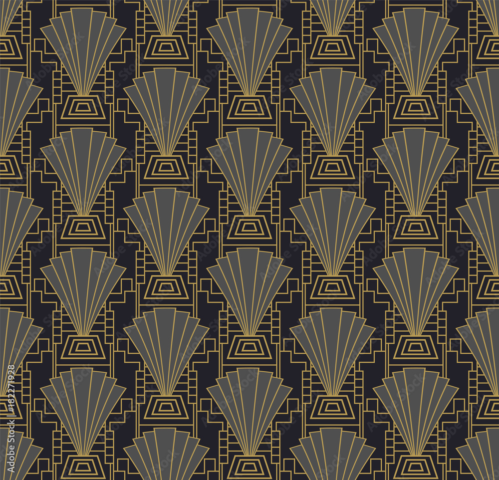 Tapeta Art deco wallpaper or
