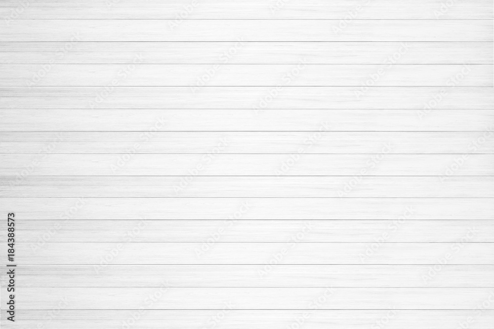 Fototapeta White wood texture background.