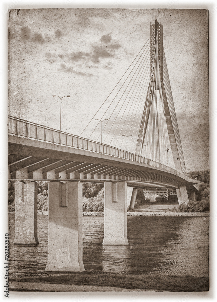 Fototapeta Swietokrzyski bridge on