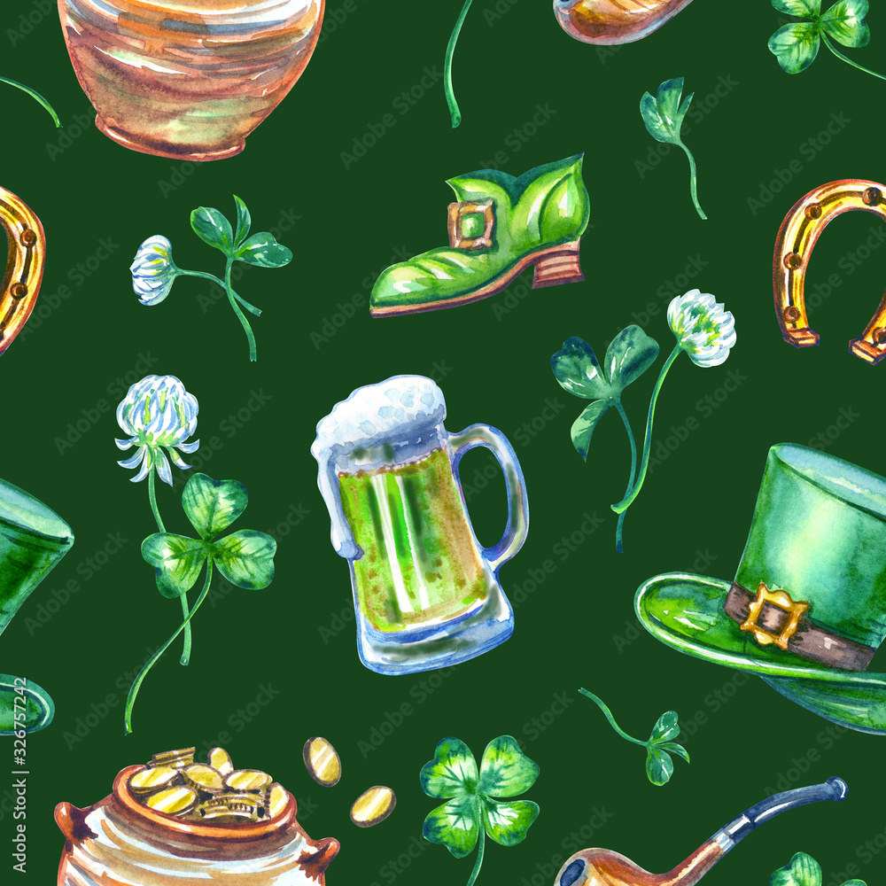 Tapeta St Patricks Day Seamless
