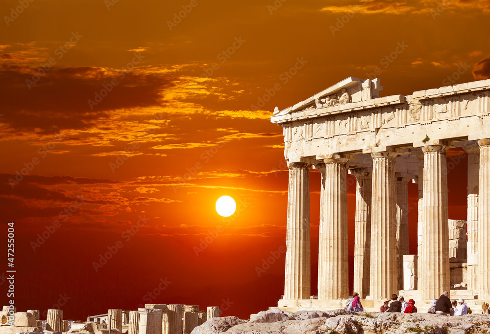 Fototapeta Parthenon temple on the