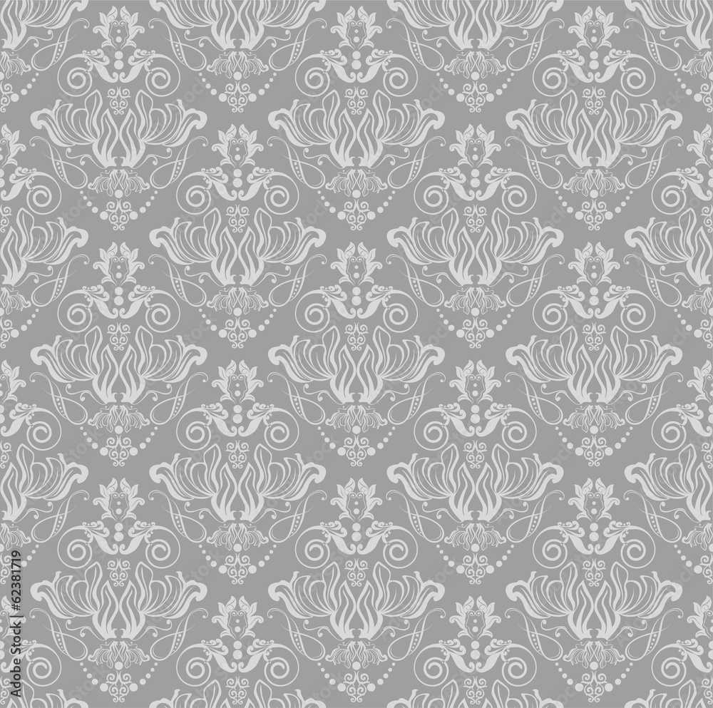 Tapeta damask seamless pattern
