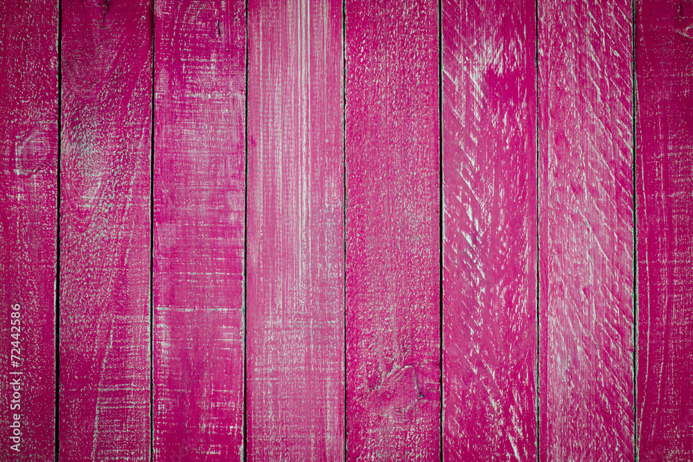 Fototapeta Close up pink wooden