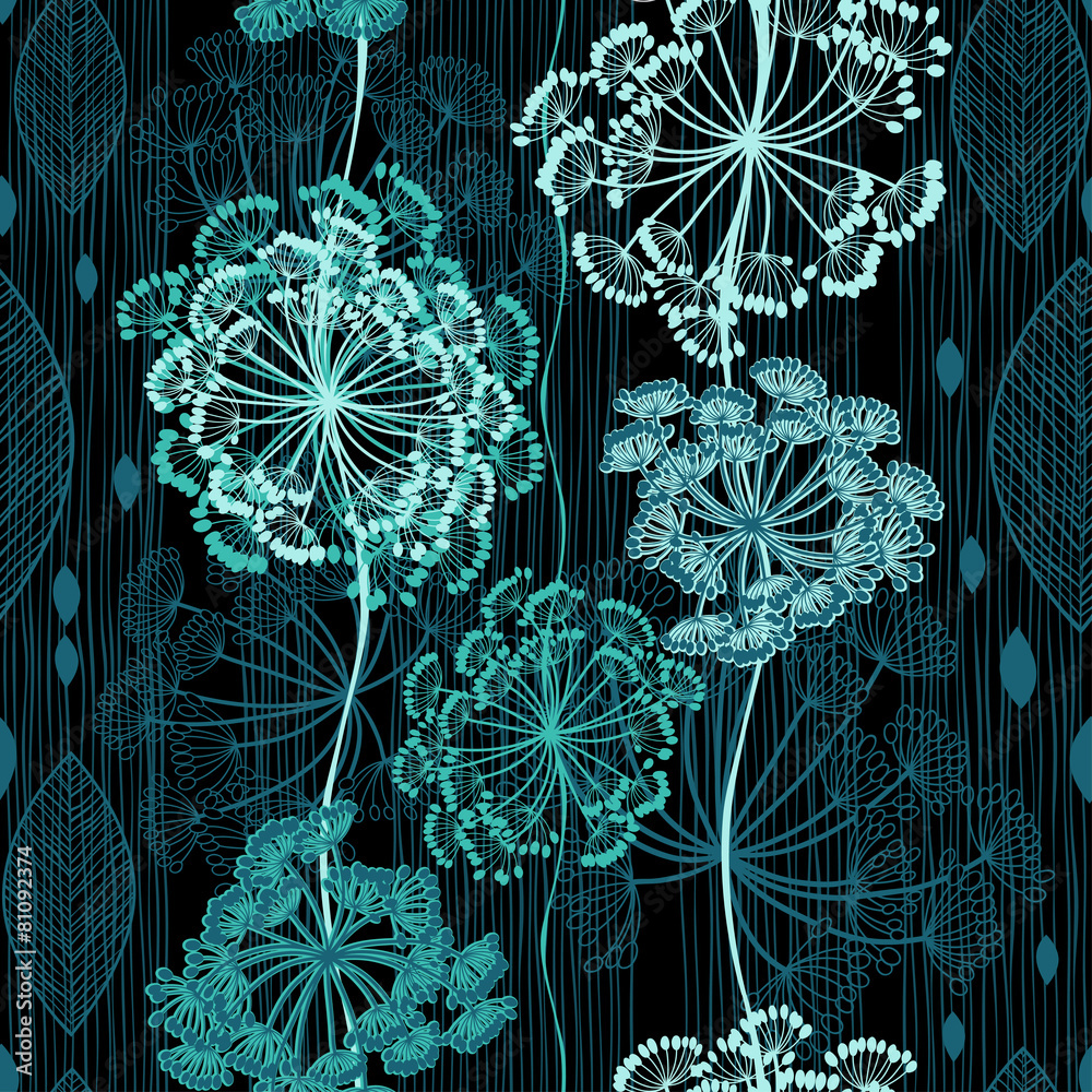 Tapeta Seamless pattern of abstract