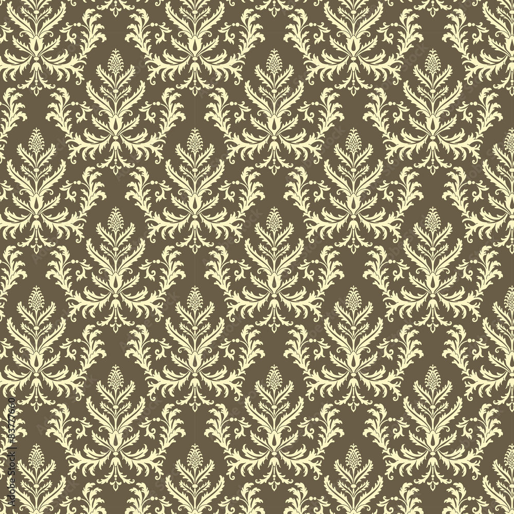 Tapeta Damask Pattern