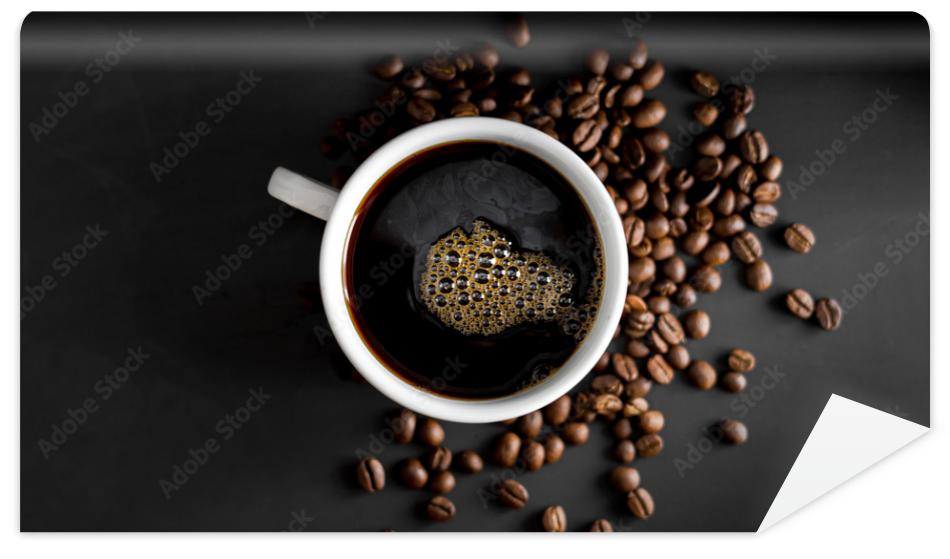 Fototapeta Coffee, black coffee, drip