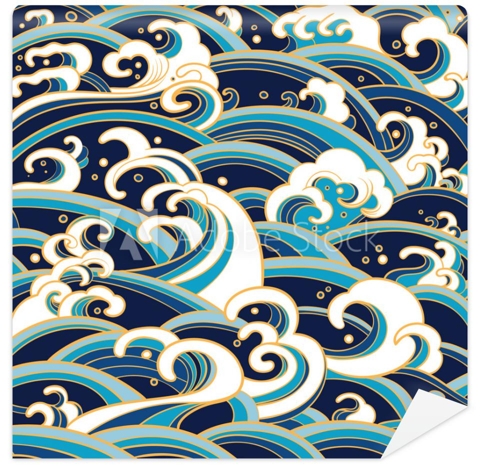 Tapeta seamless pattern with water