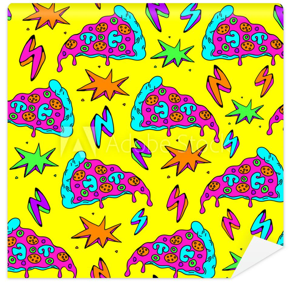 Tapeta Seamless pattern with colorful