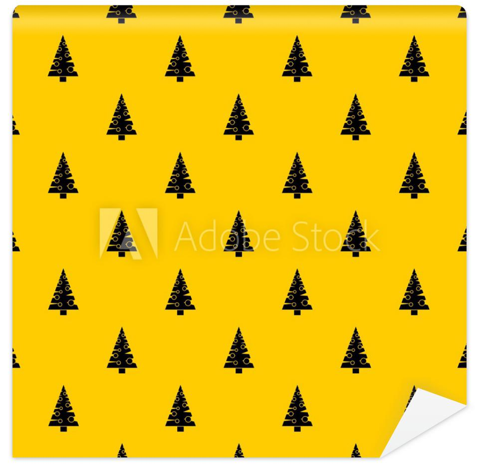 Tapeta Christmas tree pattern