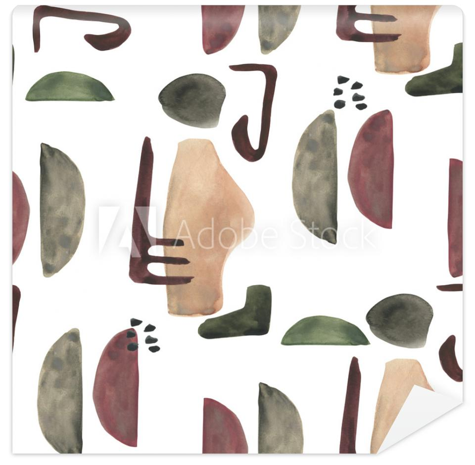 Tapeta Modern seamless pattern with