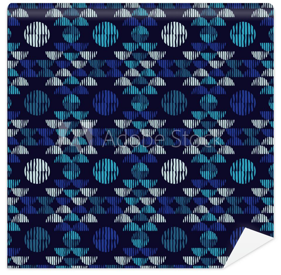 Tapeta Ethnic boho seamless pattern.